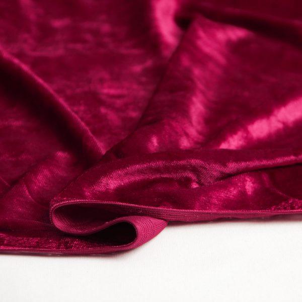 پارچه مخمل پارنا رنگ ارغوانی - روچی