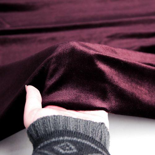 رنگ قهوه ای پارچه مخمل ساده آوینا - روچی