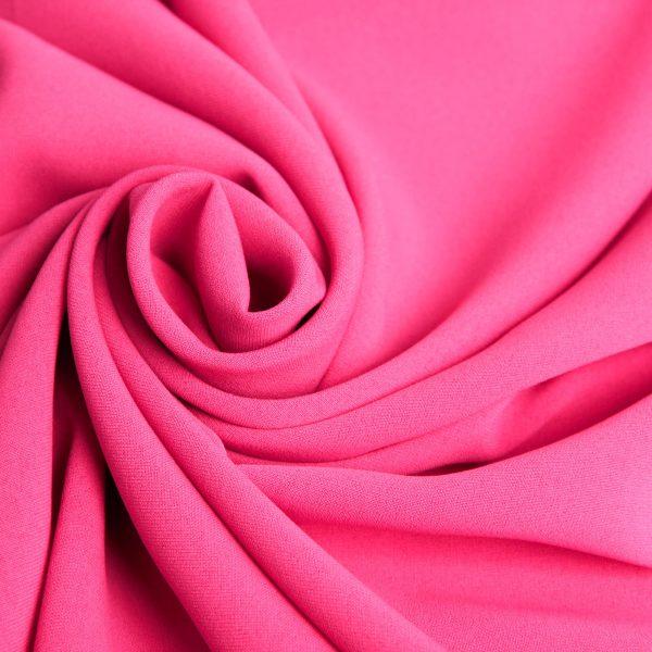خرید آنلاین رنگ گلبهی پارچه کرپ نایس ژانیتا - روچی