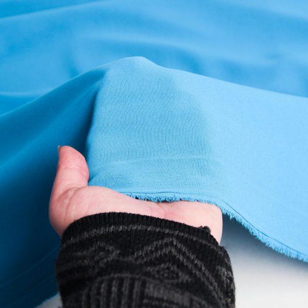 خرید رنگ آبی پارچه کرپ نایس ژانیتا - روچی