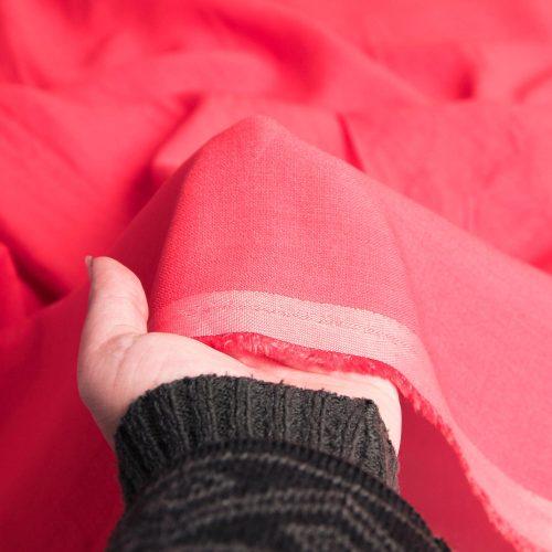 خرید رنگ قرمز پارچه لینن نخ پاستیلی آرمیلا - روچی