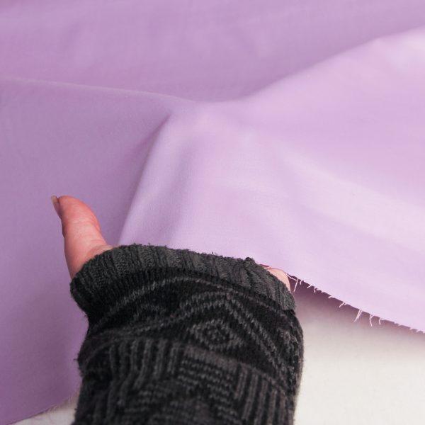 رنگ یاسی پارچه ساتن آزاله - روچی