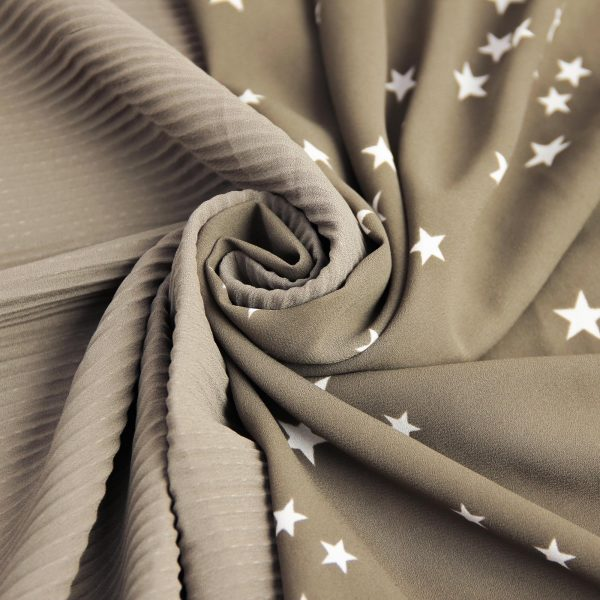 پارچه کرپ ستاره