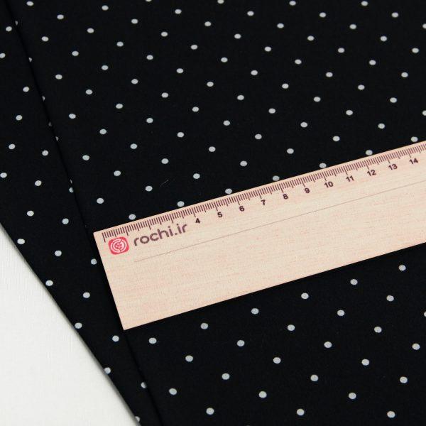 خرید پارچه کرپ خالدار پانتی - فروشگاه آنلاین روچی