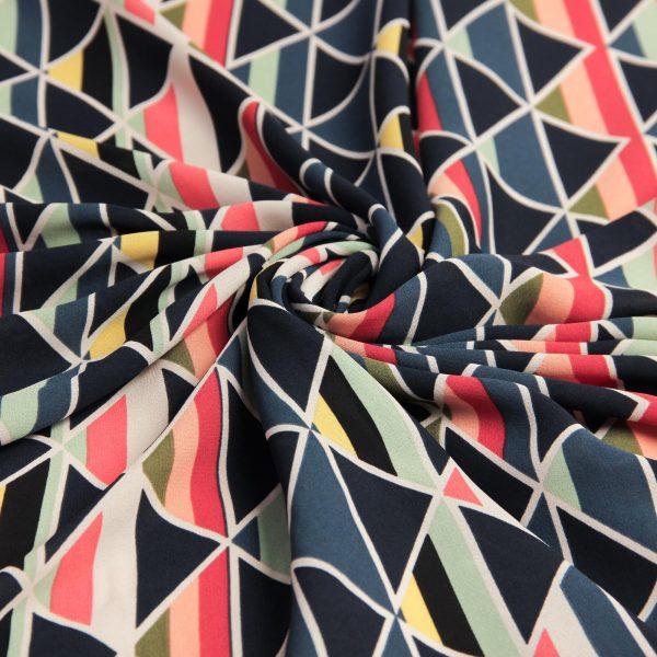 پارچه کرپ رنگی بینا - فروشگاه اینترنتی روچی