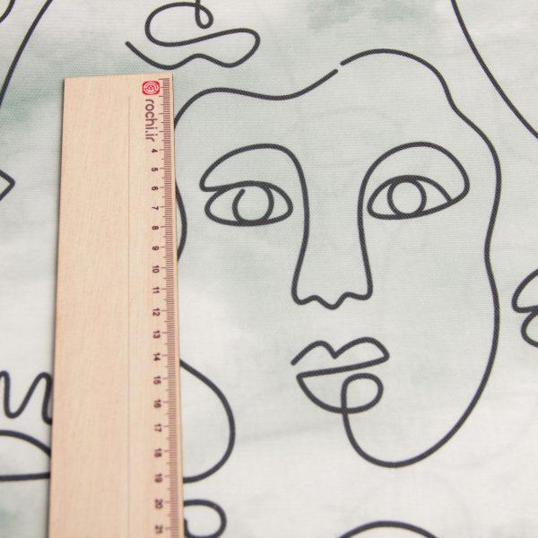 خرید آنلاین پارچه کنفی چهر آرا - روچی