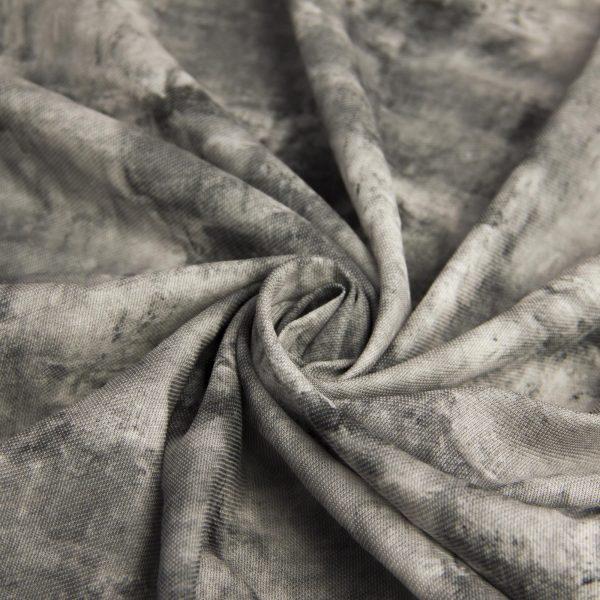 رنگ طوسی پارچه کنفی آبرنگ - روچیی پالیز -