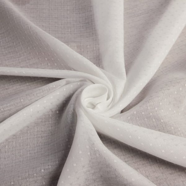 خرید عمده پارچه شال و روسری حریر نقطه ای طرحدار - روچی