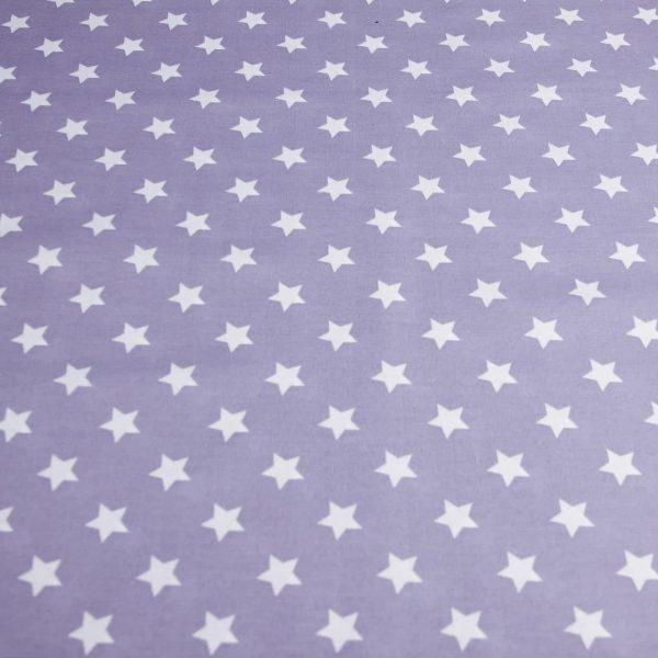 خرید پارچه ملحفه ای ستاره ای درشت - روچی