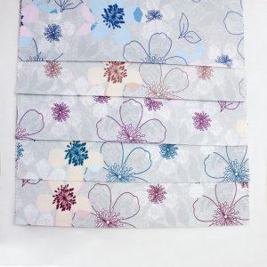 پارچه ملحفه ای گل دار - روچی