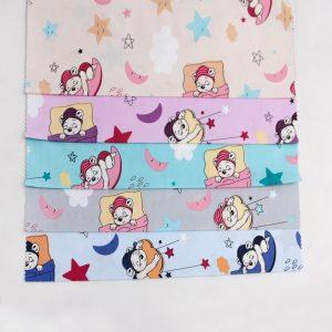 پارچه ملحفه ای عروسکی ماه و ستاره - روچی