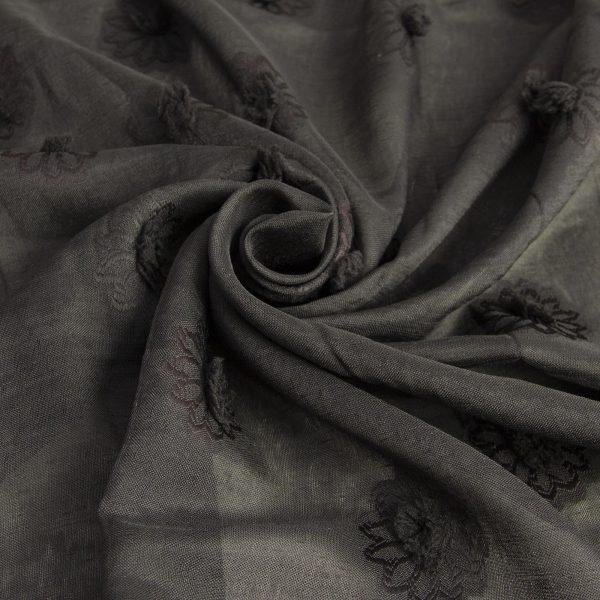 رنگ مشکی پارچه یاخما بهرو - روچی