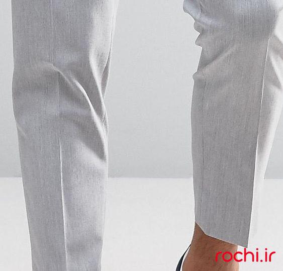 الگوی شلوار کژوال مردانه کاوه - روچی