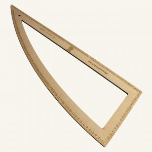 گونیا محدب چوبی - روچی