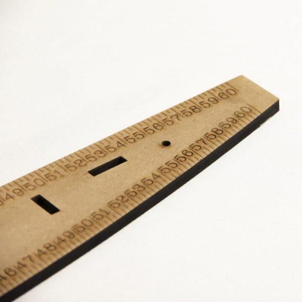 خرید خط کش مولر چوبی - فروشگاه انلاین روچی