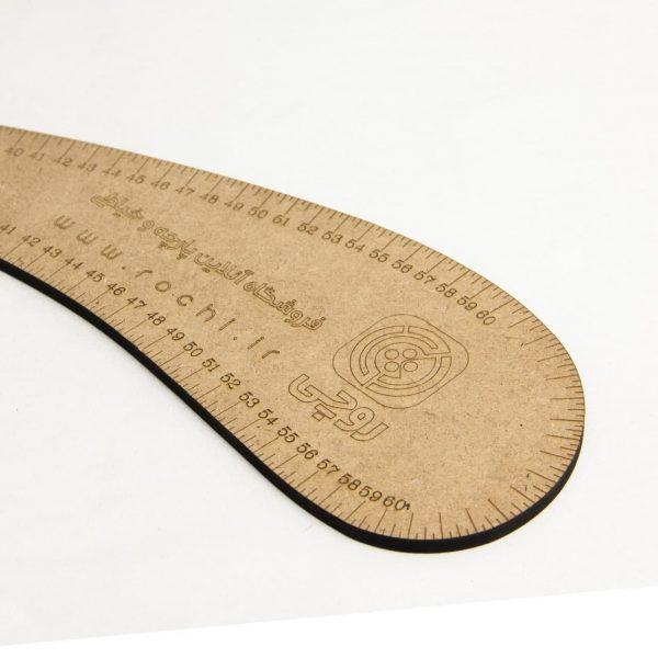 خط کش گرنل چوبی - فروشگاه آنلاین روچی
