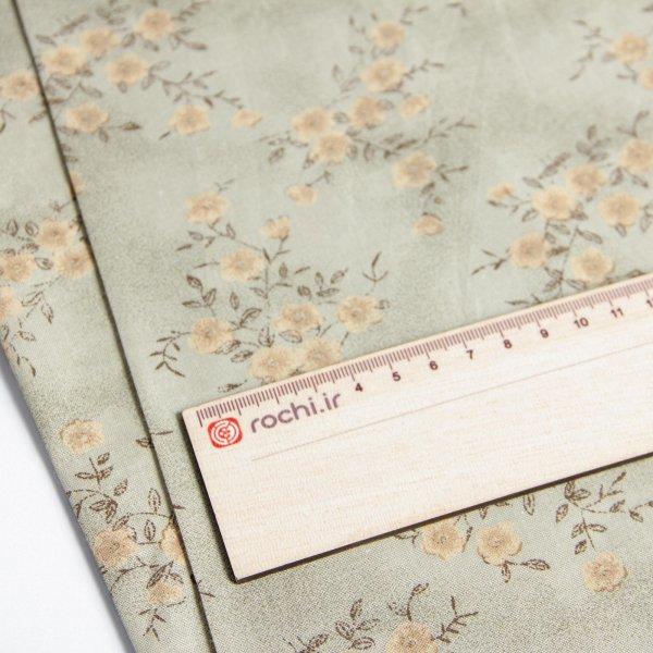 خرید پارچه نخی کودری طرحدار پرمون - روچی