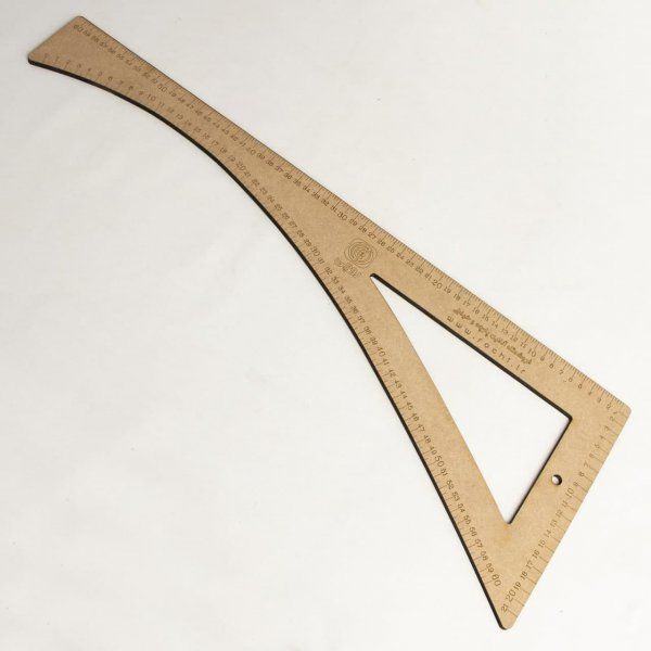 گونیا مقعر چوبی - خرازی روچی
