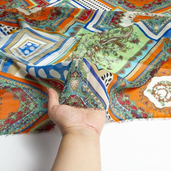 خرید پارچه حریر طرحدار هما - فروشگاه آنلاین روچی