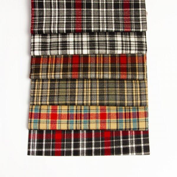 خرید پارچه کشمیر چهارخونه - روچی