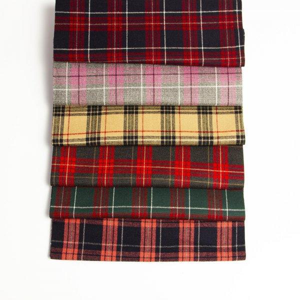 پارچه کشمیر چهارخونه - فروشگاه آنلاین روچی