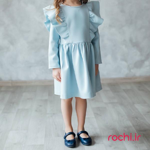 الگوی پیراهن کودک آسنا - روچی
