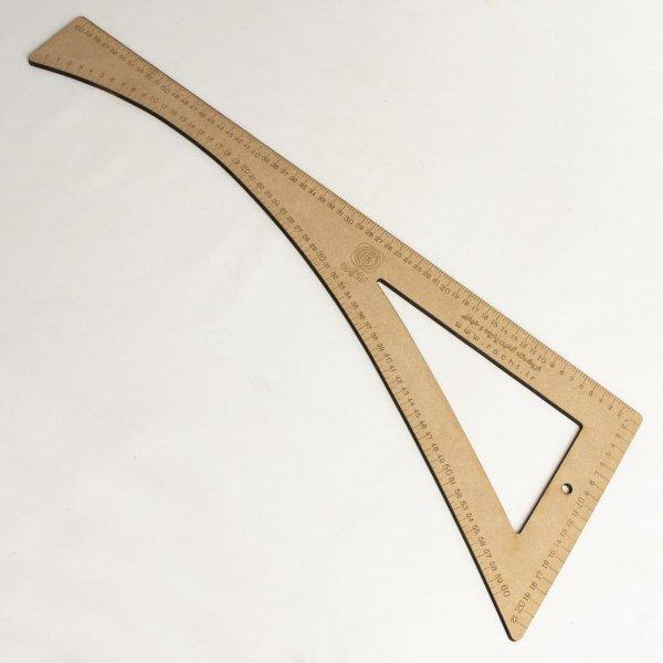 گونیا مقعر چوبی