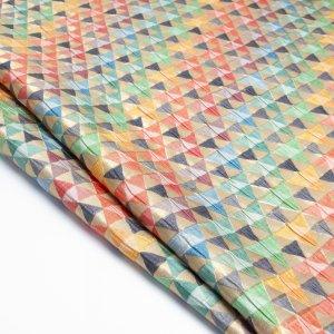 پارچه ژاکارد مثلثی راحیل