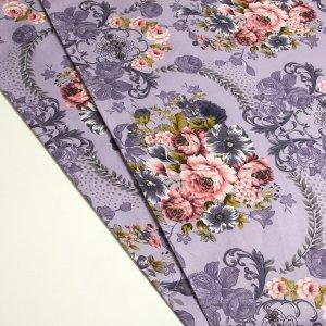 پارچه ملحفه ای گلدار بارلی